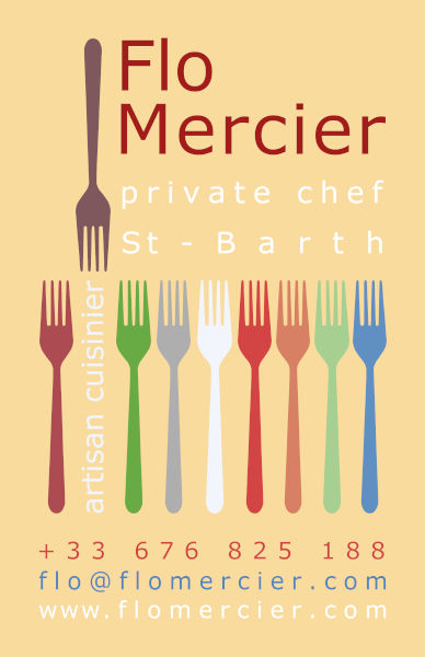 Flo MERCIER - Private Chef St Barts - Saint-Barth - SBH